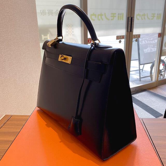 モノカウ緑橋店にて大阪のお客様からエルメスのバッグ【ケリー32】を買取_02