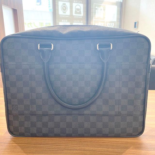 京都のお客様から宅配買取にてヴィトンのバッグ【イカール】を買取_02