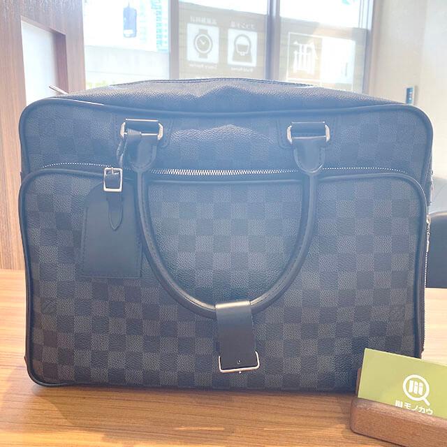 京都のお客様から宅配買取にてヴィトンのバッグ【イカール】を買取_01