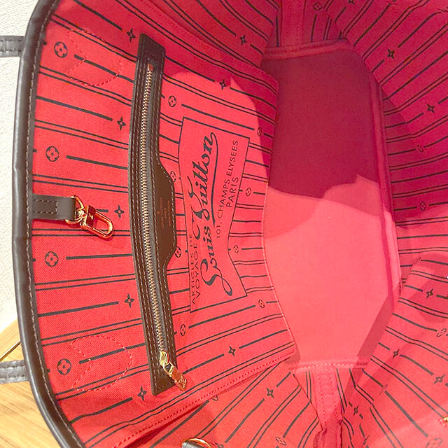 宇治のお客様から宅配買取にてヴィトンのトートバッグ【ネヴァーフルMM】を買取_03