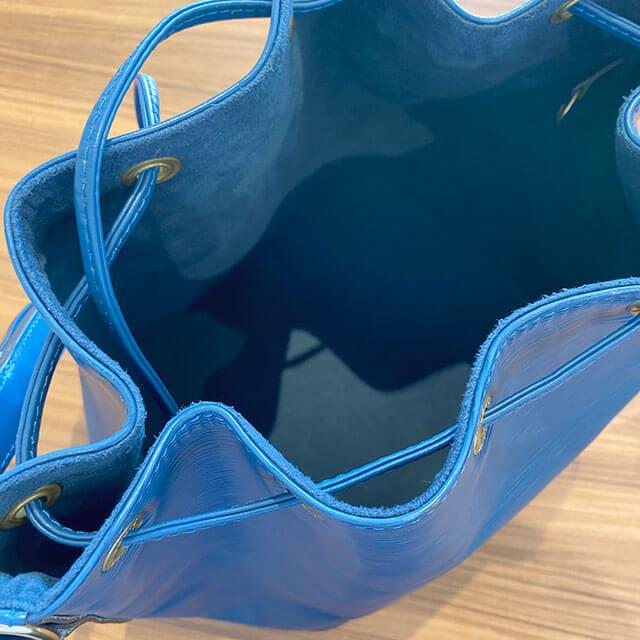 モノカウ玉造店にてヴィトンの巾着バッグ【プチノエ】を買取_04