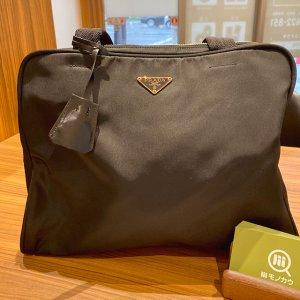 高田馬場のお客様から宅配買取にてプラダのトートバッグを買取