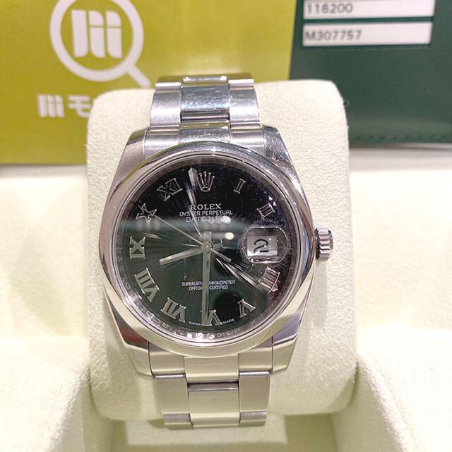 モノカウ心斎橋店にてロレックスの腕時計【デイトジャスト サンビーム】を買取_01
