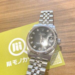 モノカウ玉造店にて森ノ宮のお客様からロレックスの腕時計【デイトジャスト】を買取