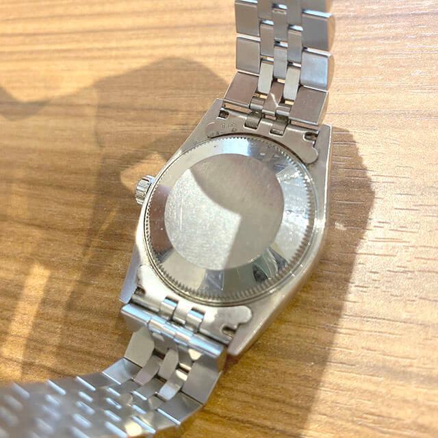 モノカウ玉造店にて森ノ宮のお客様からロレックスの腕時計【デイトジャスト】を買取_02