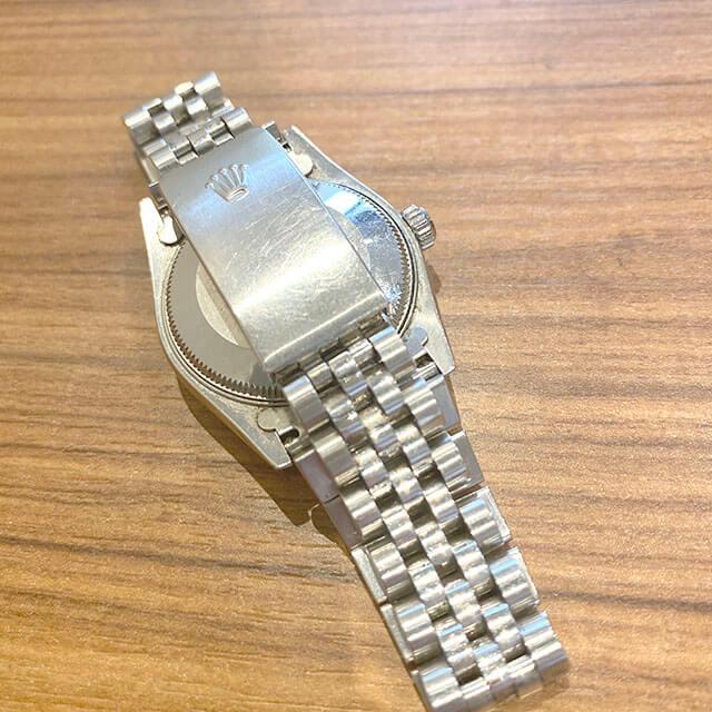 モノカウ玉造店にて森ノ宮のお客様からロレックスの腕時計【デイトジャスト】を買取_03