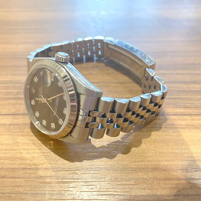 モノカウ玉造店にて森ノ宮のお客様からロレックスの腕時計【デイトジャスト】を買取_04