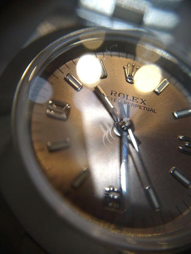モノカウ心斎橋店にて岸和田のお客様からロレックスの腕時計【オイスターパーペチュアル】を買取_03
