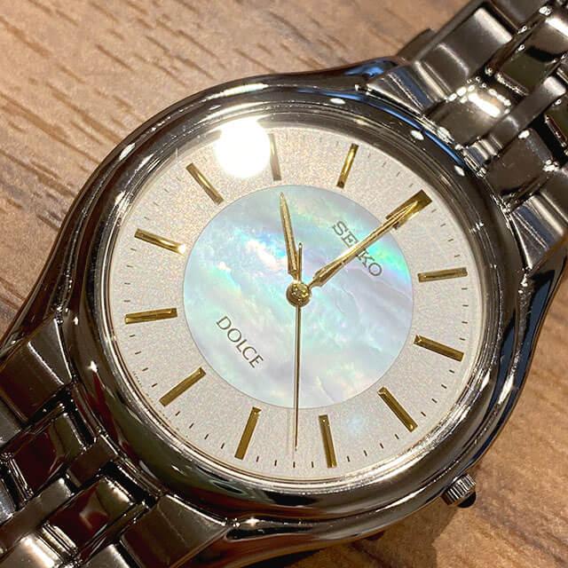 モノカウ心斎橋店にて奈良のお客様からセイコーの腕時計【ドルチェ】を買取_02