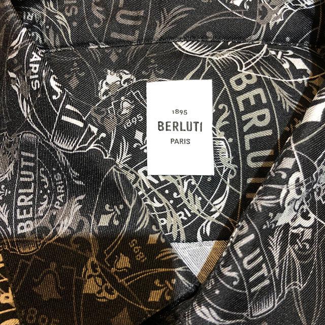 モノカウ心斎橋店にて大正のお客様からベルルッティのシャツとネクタイを買取_02