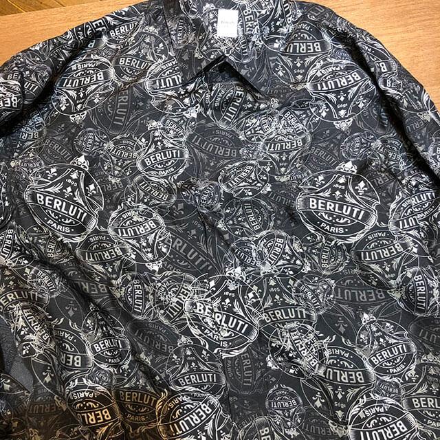 モノカウ心斎橋店にて大正のお客様からベルルッティのシャツとネクタイを買取_03