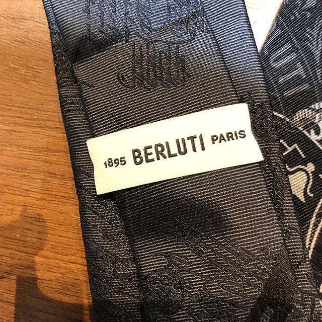モノカウ心斎橋店にて大正のお客様からベルルッティのシャツとネクタイを買取_04