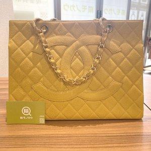 熊本のお客様から宅配買取にてシャネルのキャビアスキンのチェーンバッグを買取