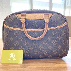 モノカウ石岡営業所にてヴィトンのモノグラムのバッグ【ドーヴィル】を買取