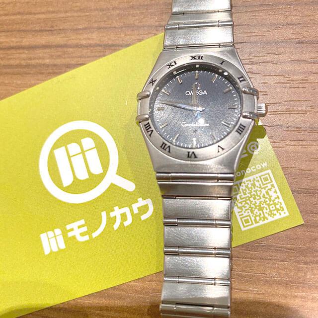 モノカウ心斎橋店にて弁天町のお客様からオメガの腕時計【コンステレーション】を買取_01