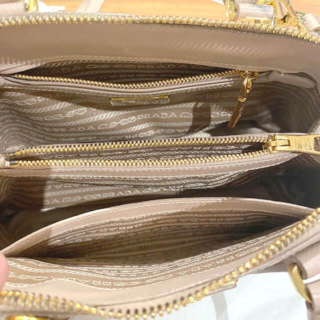 モノカウ緑橋店にて東成のお客様からプラダの2wayバッグ【ラックス】を買取_04