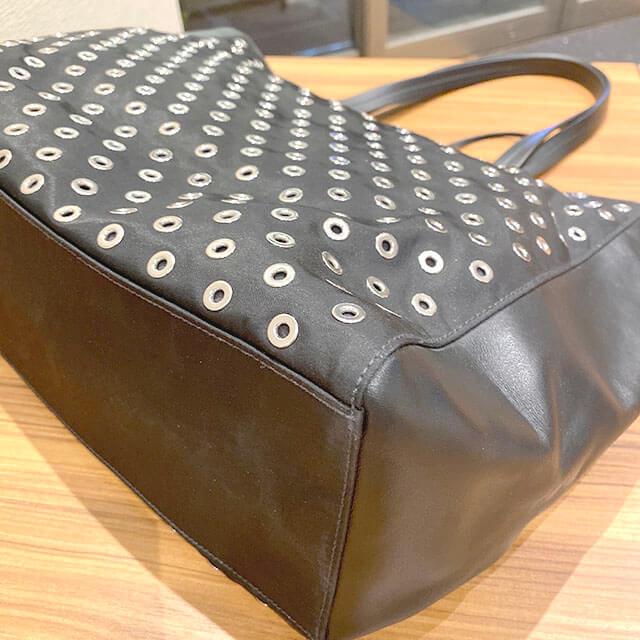 モノカウ玉造店にて上本町のお客様からプラダのトートバッグを買取_03