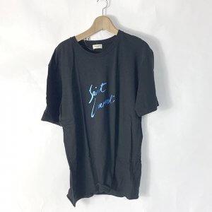 鹿児島のお客様から宅配買取にてサンローランの【メタリックロゴ】 Tシャツを買取