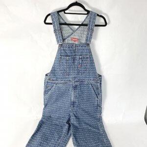 滋賀のお客様から宅配買取にてシュプリームの【20SS jacquard logos Denim overalls】を買取