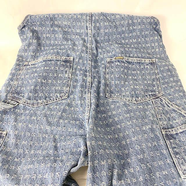 ブランド買取専門店【モノカウ】の宅配買取にて、滋賀のお客様からシュプリームの【20SS jacquard logos Denim overalls】を買取致しました。_02