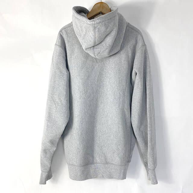 滋賀のお客様から宅配買取にてノースフェイスの【20SS S logo hooded sweatshirt Heather Grey 】を買取_02