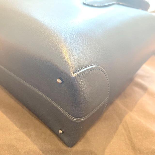 船橋のお客様から宅配買取にてトッズのレザートートバッグを買取_03