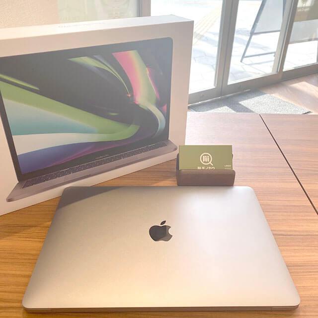 モノカウ心斎橋店にて高砂のお客様からアップルの最新版【MacBook Pro】を買取_01