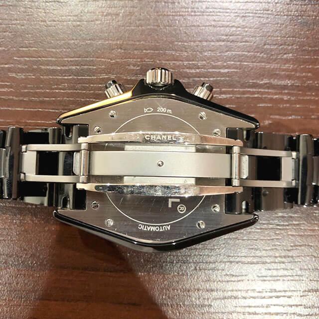 モノカウ緑橋店にて住之江のお客様からシャネルの腕時計【J12 クロノグラフ 】を買取_03