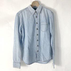 横浜のお客様から宅配買取にてクロムハーツの【ルーズエンド クロスボタン】デニムシャツを買取