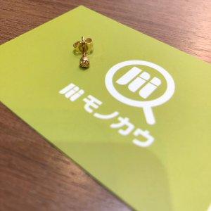 モノカウ心斎橋店にて池田のお客様からクロムハーツのピアス【STUD CRS BALL MINI】を買取