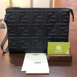 モノカウ枚方営業所にて摂津のお客様からフェンディの【ズッカ柄】クラッチバッグを買取