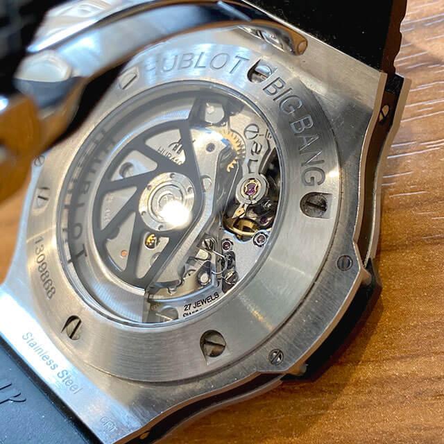 モノカウ緑橋店にて城東区のお客様からウブロの腕時計【ビッグバンエボリューション】を買取_03