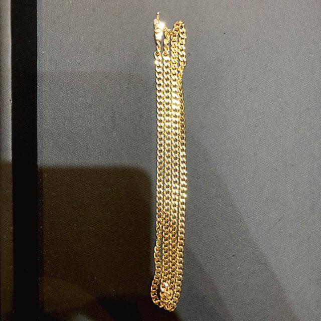 モノカウ心斎橋店にて東大阪のお客様から18金の喜平ネックレスを買取_02