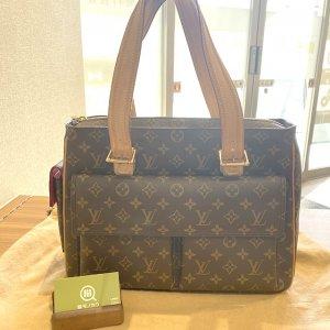 モノカウ玉造店にて東成のお客様からヴィトンのハンドバッグ【ミュルティプリ・シテ】を買取