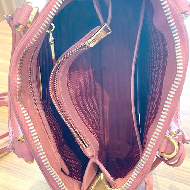 モノカウ心斎橋店にて堀江のお客様からプラダの2wayバッグを買取_03