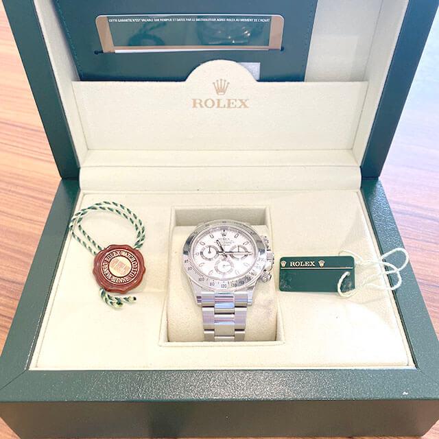 モノカウ玉造店にて大阪市のお客様からロレックスの腕時計【デイトナ】を買取_04