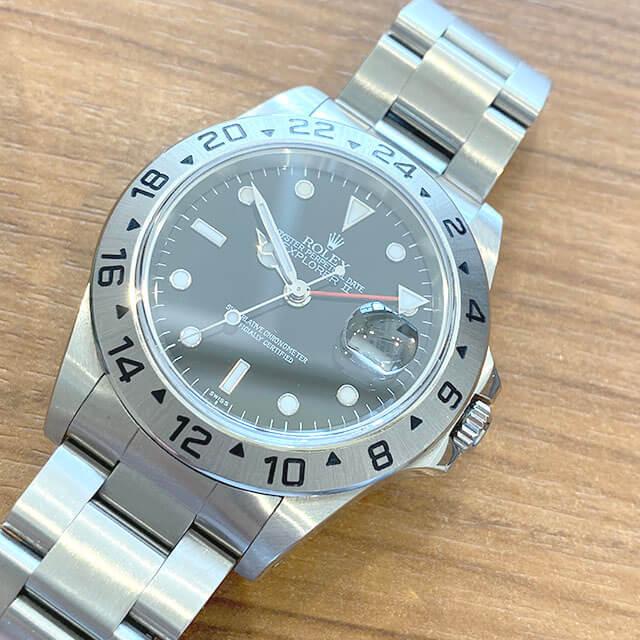 モノカウ緑橋店にて東成のお客様からロレックスの腕時計【エクスプローラーⅡ】を買取_02