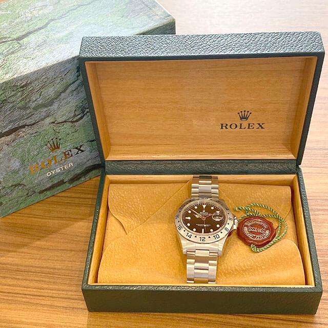 モノカウ緑橋店にて東成のお客様からロレックスの腕時計【エクスプローラーⅡ】を買取_04