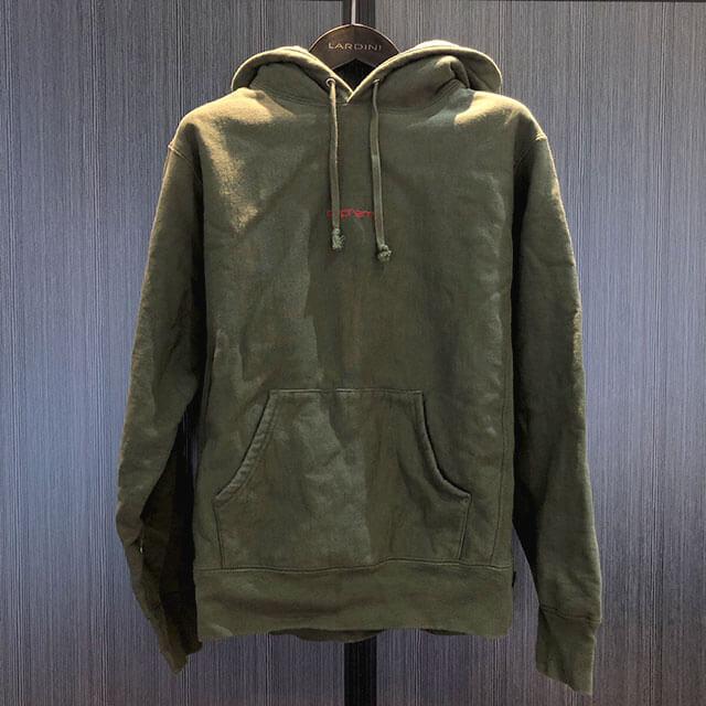 モノカウ心斎橋店にてシュプリームの【17AW Compact Logo Hooded Sweatshirt】を買取_01