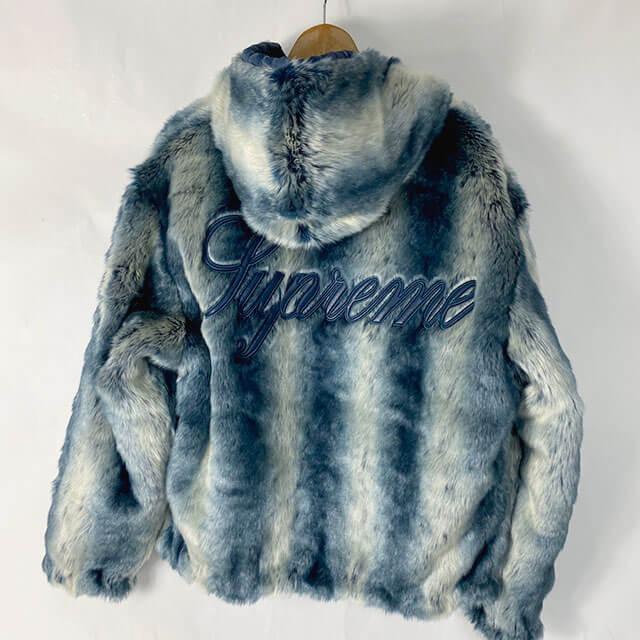 愛知のお客様から宅配買取にてシュプリームの【Faux Fur Reversible Hooded Jacket】を買取_02