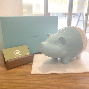 モノカウ北見営業所にて北海道のお客様からティファニーの貯金箱【ピギーバンク】を買取