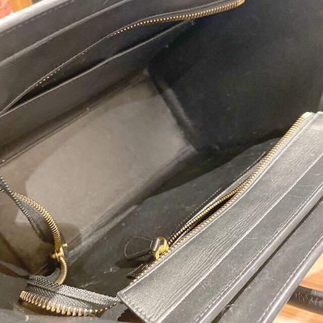 モノカウ心斎橋店にて難波のお客様からセリーヌのハンドバッグ【マイクロショッパー】を買取_04