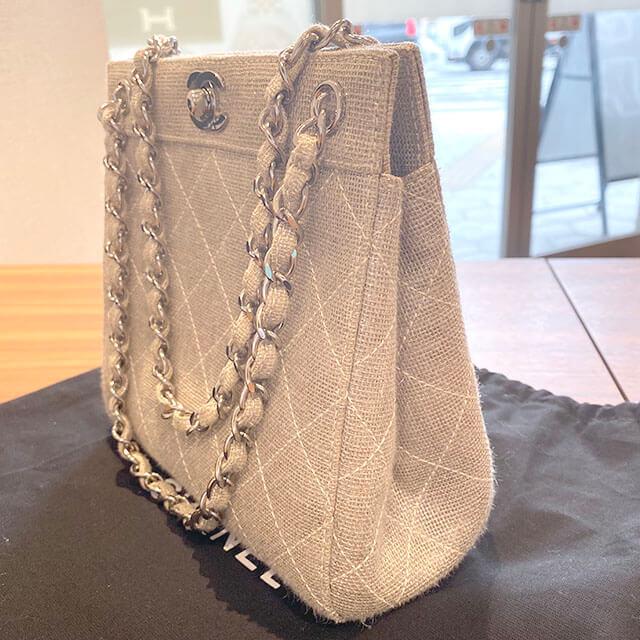 モノカウ心斎橋にて東三国のお客様からシャネルのチェーンハンドバッグを買取_02