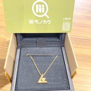新潟のお客様から宅配買取にてヴィトンのK18ダイヤネックレス【ヴォルト ワンPM】を買取