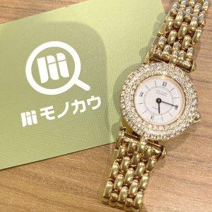モノカウ玉造店にて東成のお客様からヴァンクリーフ&アーペルの【ダイヤベゼル×K18】腕時計を買取