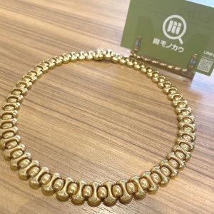 モノカウ玉造店にて加古川のお客様から18金のネックレスを買取