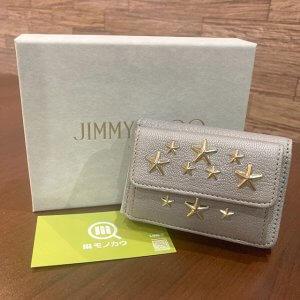 モノカウ緑橋店にて東成のお客様からジミーチュウの二つ折財布を買取