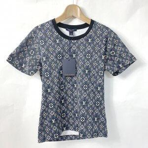 モノカウ玉造店にて住之江のお客様からヴィトンの20SS【SINCE1854 バックルディテール】Tシャツを買取
