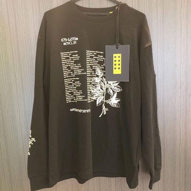 モノカウ心斎橋店にて東大阪のお客様からモンクレールの1952コレクション【マグリア】ロングTシャツを買取_01