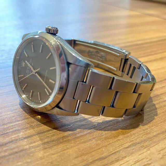 モノカウ心斎橋店にて堀江のお客様からロレックスの腕時計【エアキング】を買取_02